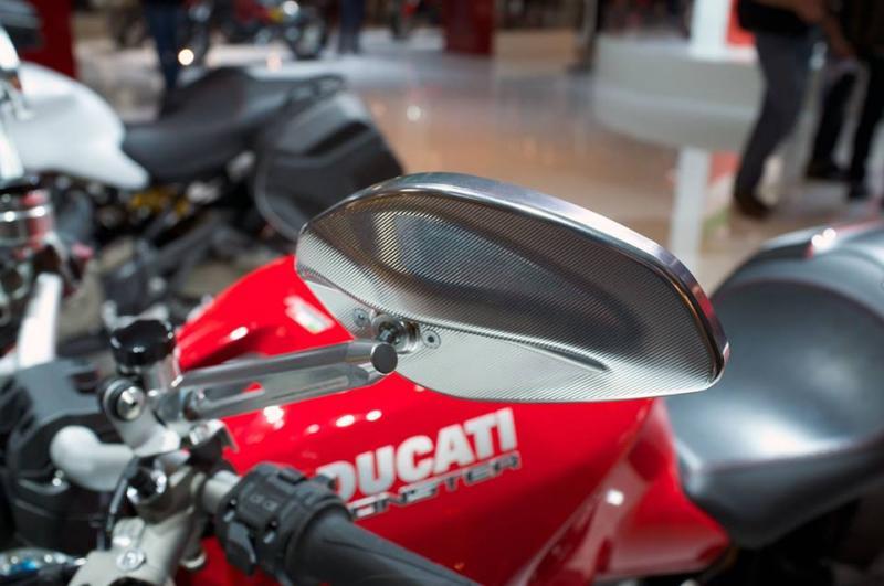COUPLE COVER MIRRORS - Ducati 899/1199 (no turn indicator