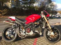 Ducati Monster S4R rot mit Vollausstattung