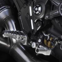 Ducati Diavel Kit einstellbare Fußrastenanlage